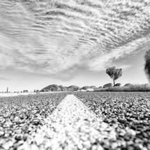 road through the Australia Outback