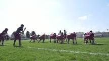 a football play