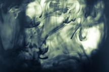 swirls of black smoke