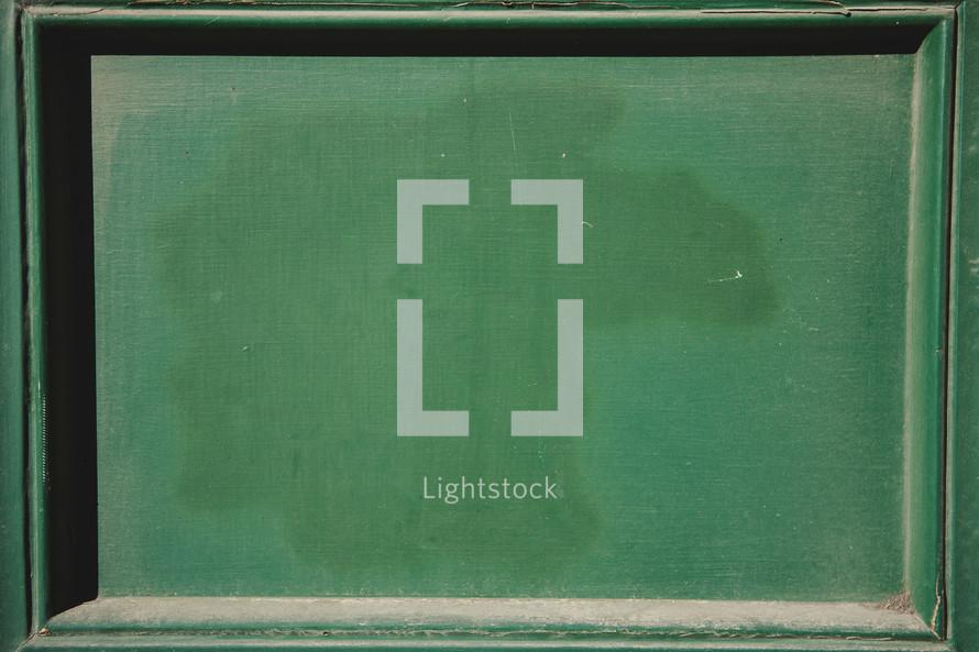 green door panel