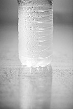 A refreshing bottle of water