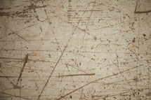 scratched up wood background