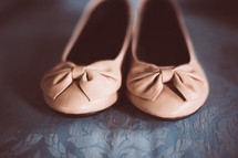 ballet flats with bows
