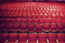 Chairs in auditorium