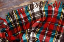 plaid blanket