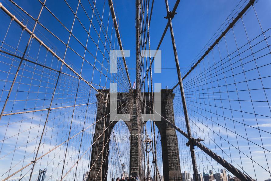 Brooklyn Bridge cables