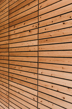 wood boards on a wall