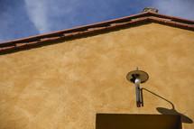 lamp over a doorway in Italy