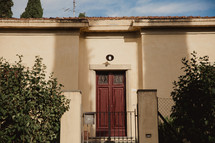 door to a house in Italy