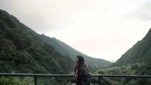 exploring the Hawaiian landscape