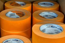 orange painter tape