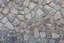 gravel sidewalk close-up