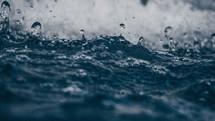 splashing water background