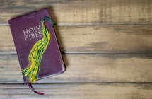 graduation tassel on a Bible