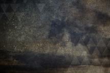 grunge, background, black, gray, triangles, concrete