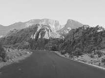 scenic loop of Red Rock Canyon