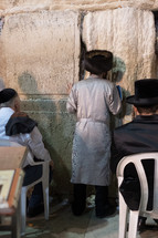 praying in Jerusalem