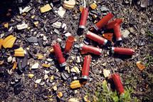 shot gun bullet casings