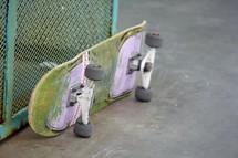 skateboard on a pier in Huntington Beach, California