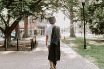 a male graduate