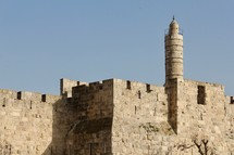 Tower of David Jerusalem Old City Walls