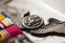 military wings pin, aviator