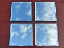 clouds in mirrors