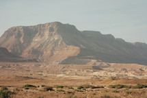 the desert region near Qumran