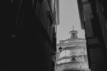 church and dome in Italy