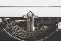 typewriter typing