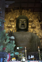 buddhist prayer statue
