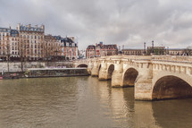 bridge over river in Paris