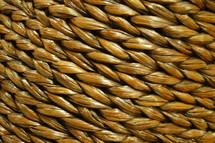 texture - woven wicker