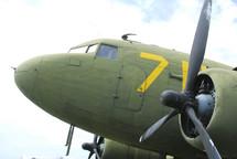 A military airplane