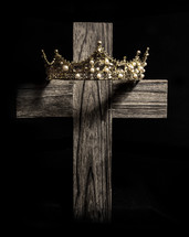 crown on a cross