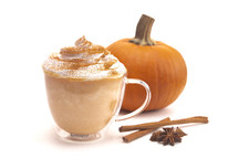 Pumpkins Spices and Hot Latte