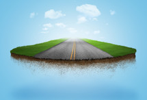 visualize the road to heaven