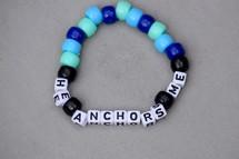 He Anchors Me