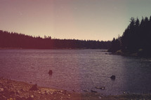 Lake and Forest | Grunge/Flares Look | Summer | Retreat | Trees