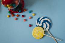 candy and lollipops