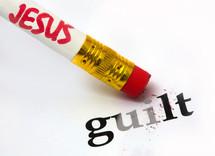 Jesus erasing guilt