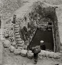 The Pool of Siloam.