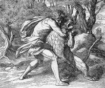 Samson slays the lion, Judges, 14:6