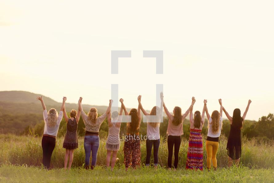 women united in friendship