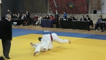 a Judo match