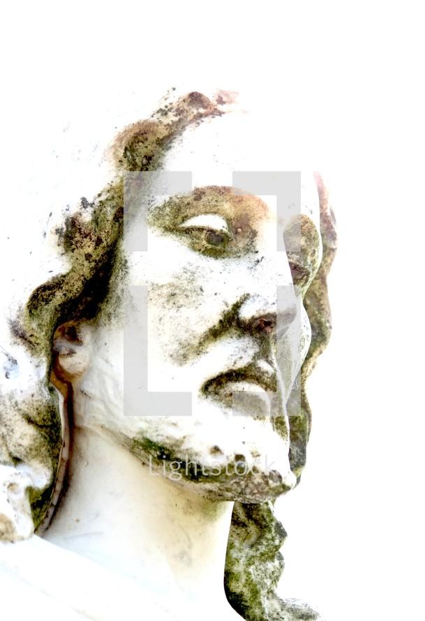 sculpture of Jesus