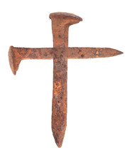 Cross of nails.