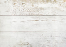 weathered white wood boards
