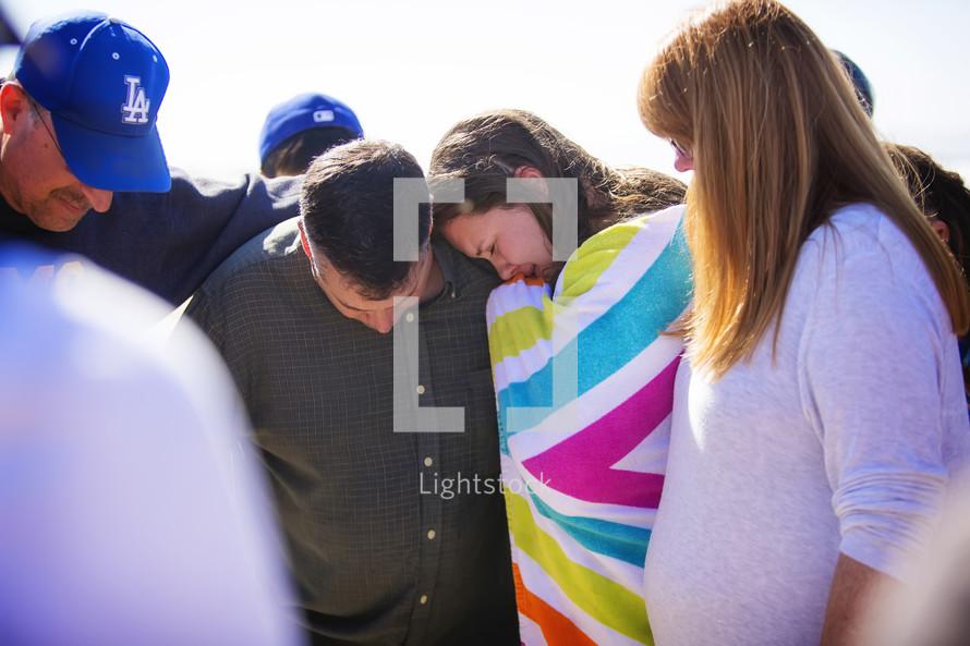 prayers after a baptism