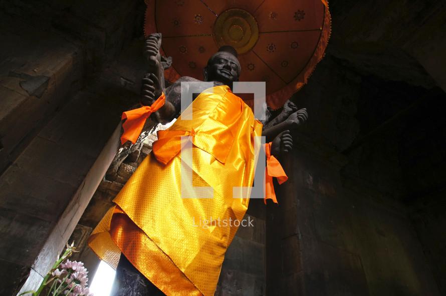 Asian statue - god